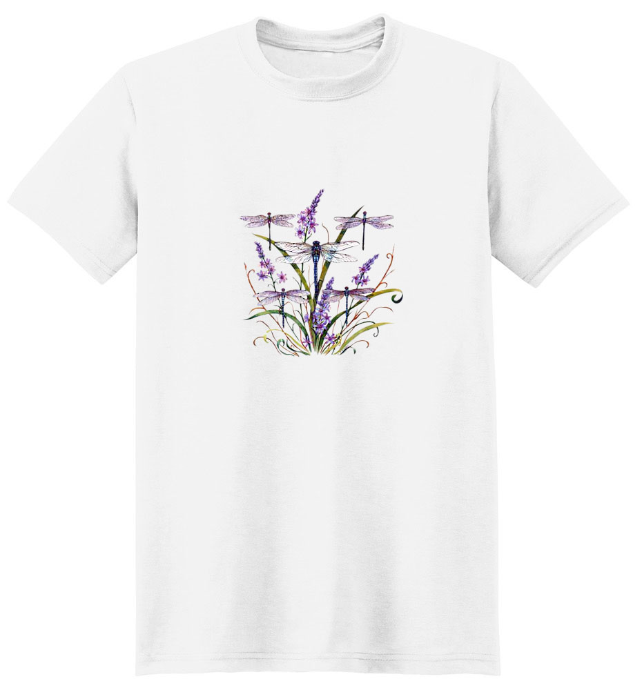 Dragonfly T-Shirt - Colorfully Portrayed