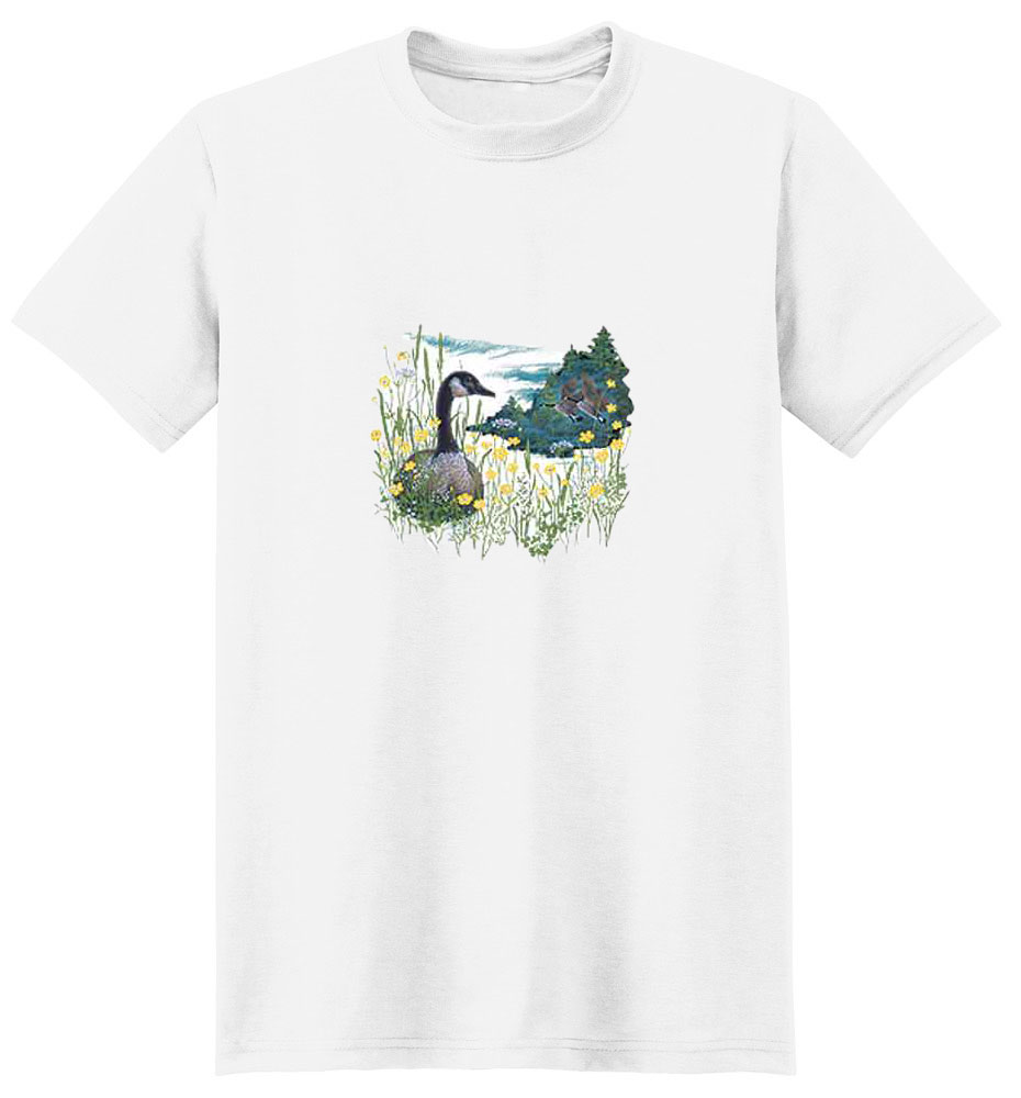 Duck T-Shirt - Eye Catching Detail