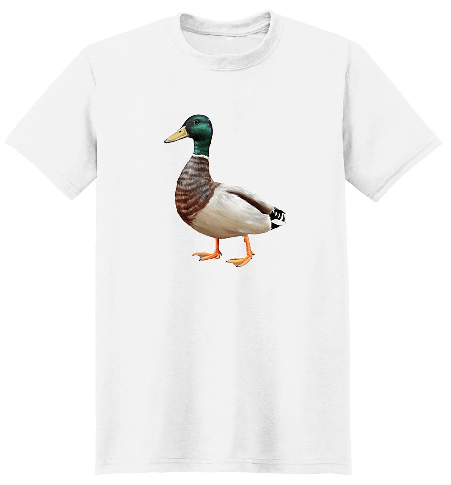 Duck T Shirt - Impressive Portrait