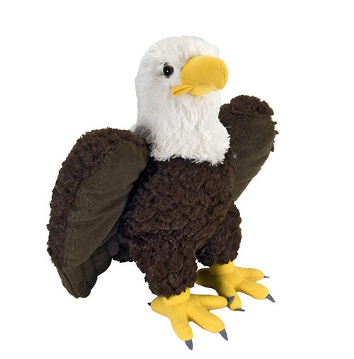 Eagle Cuddlekins Plush Animal 14