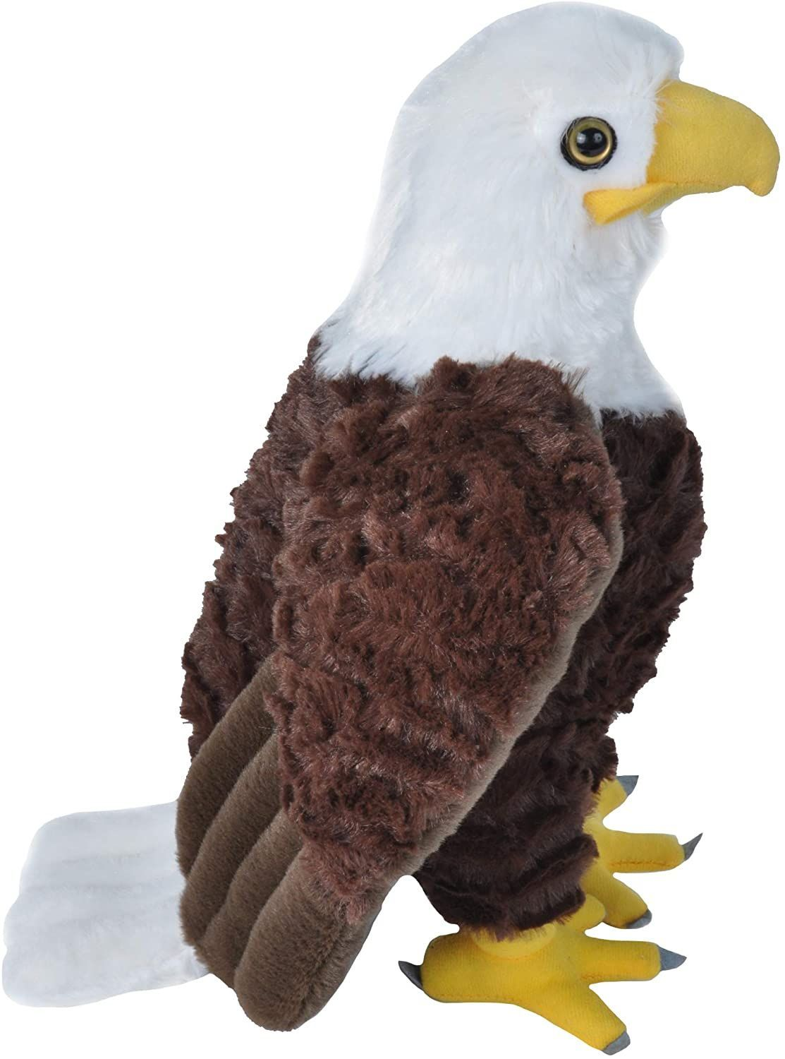 Wild Republic Bald Eagle Plush,  Cuddlekins 12
