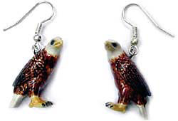 Eagle Earrings True to Life