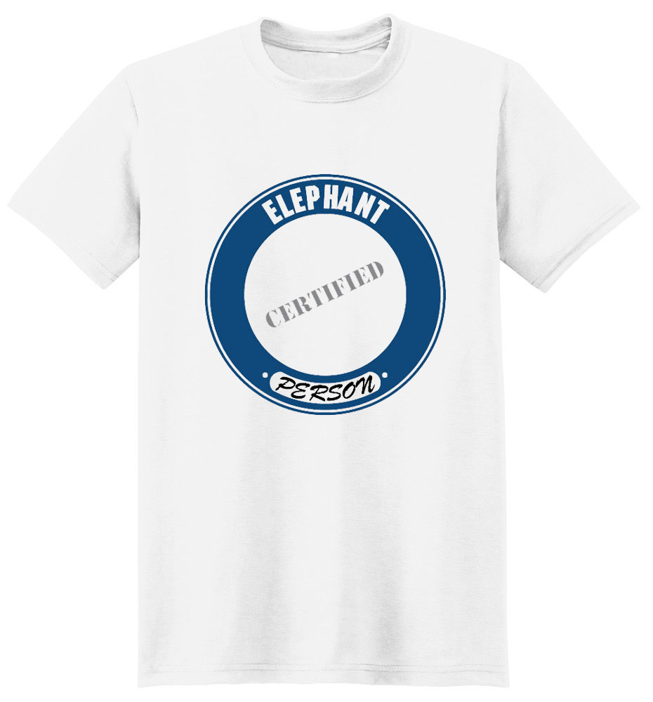 Elephant T-Shirt - Certified Person