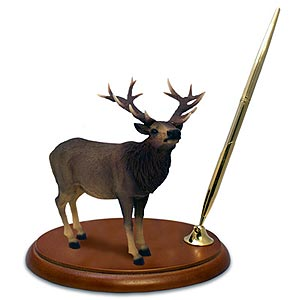 Elk Pen Holder