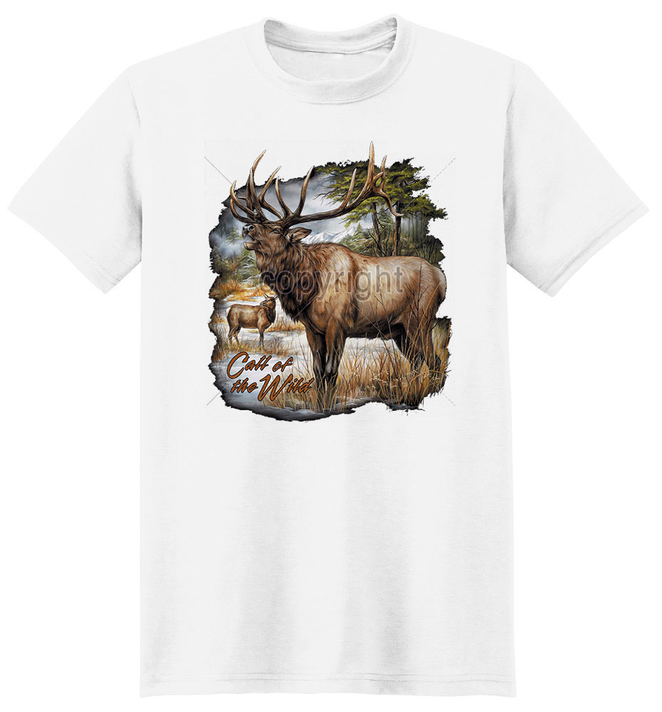 Elk T Shirt Call Of The Wild