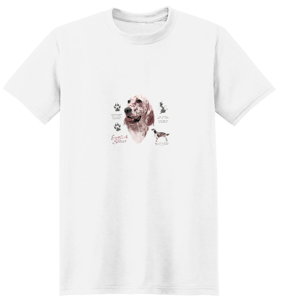 English Setter T-Shirt - History Collection