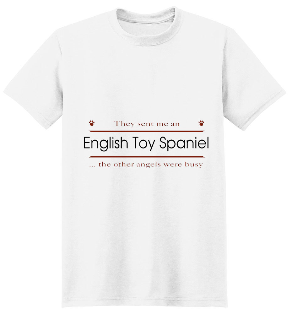 English Toy Spaniel T-Shirt - Other Angels