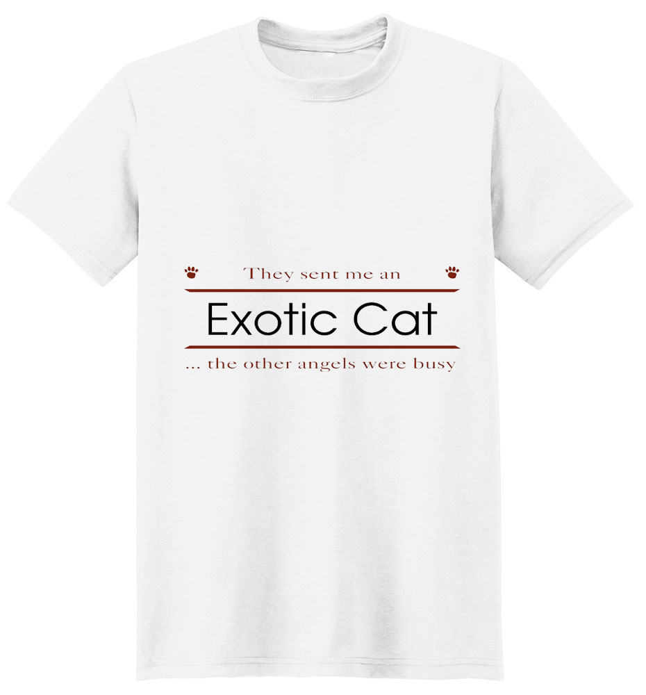 Exotic Cat T-Shirt - Other Angels