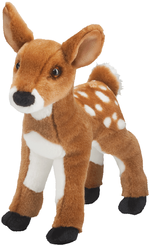 "Fawn Deer 11"" Stuffed Plush Animal"