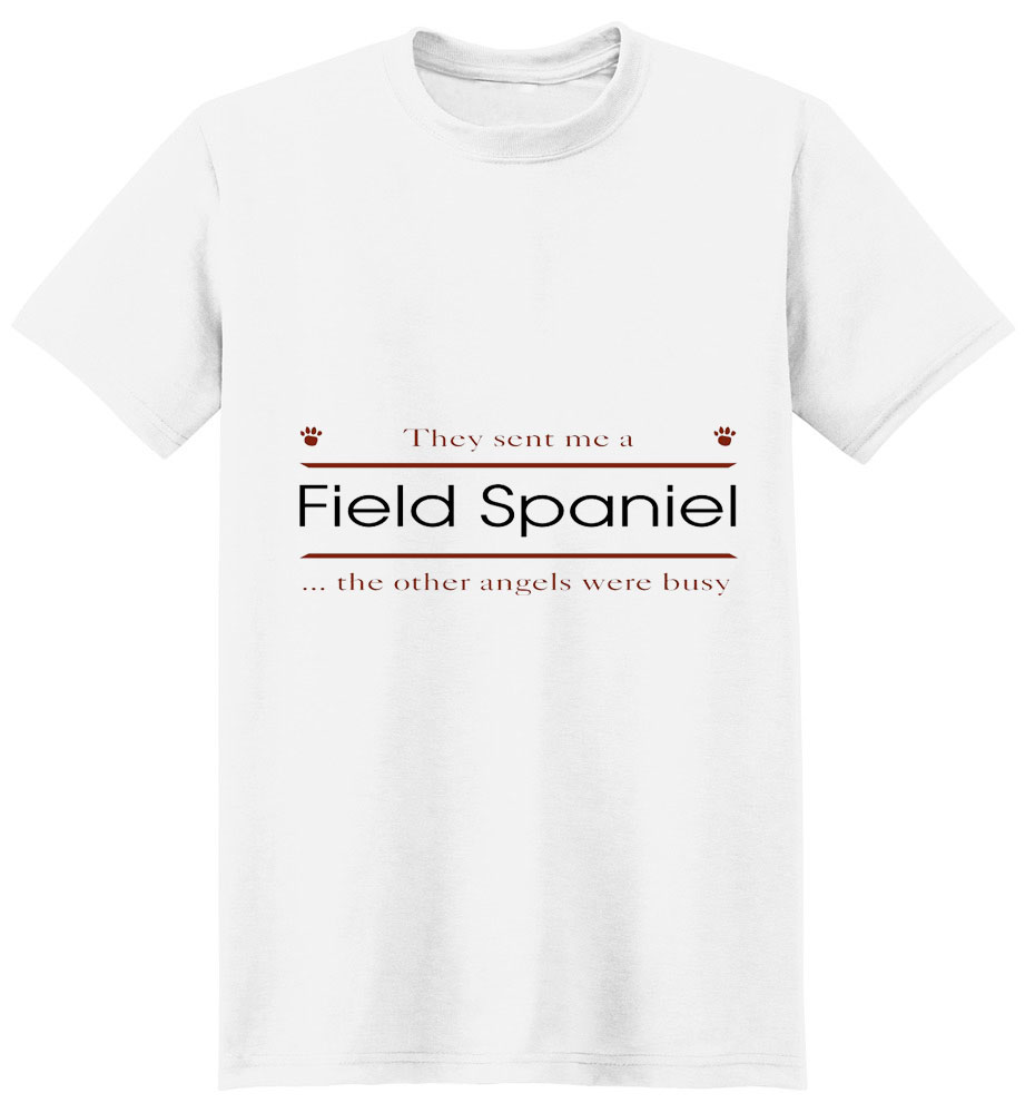 Field Spaniel T-Shirt - Other Angels