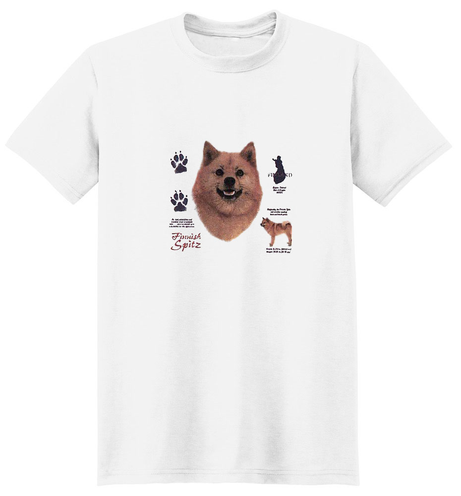 Finnish Spitz T-Shirt - History Collection