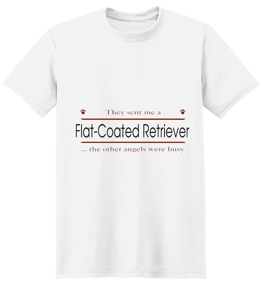 Flat-Coated Retriever T-Shirt - Other Angels