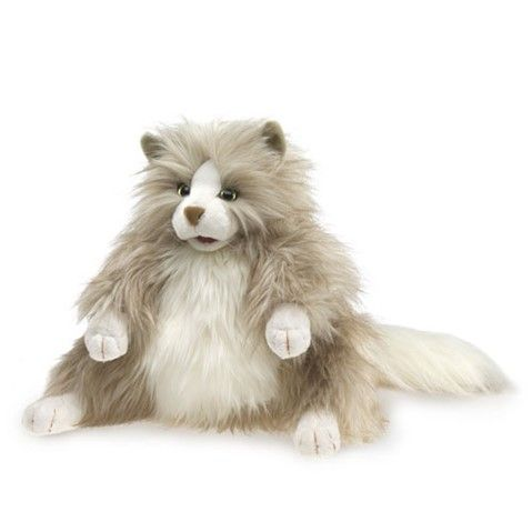 Fluffy Cat  Hand Puppet 14