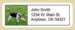 Foxhound Address Labels
