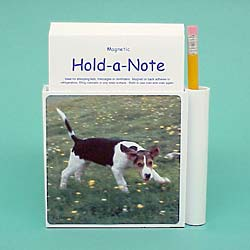 Foxhound Hold-a-Note