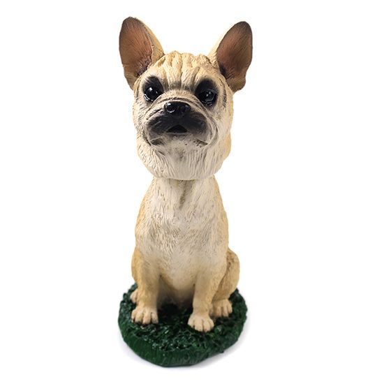 French Bulldog Bobblehead Fawn