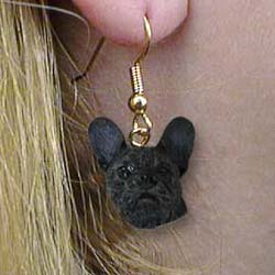 French Bulldog Authentic Earrings
