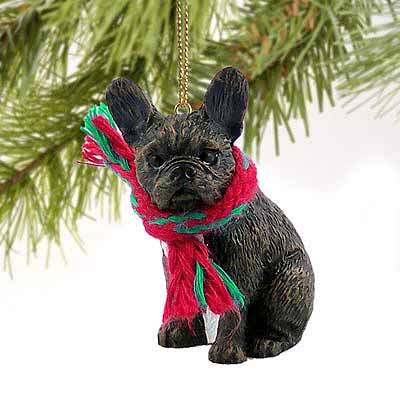 French Bulldog Tiny One Christmas Ornament