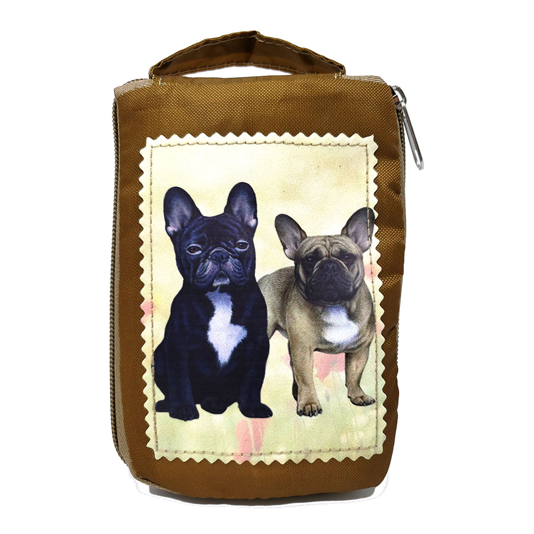 French Bulldog Tote Bag - Foldable to Pouch