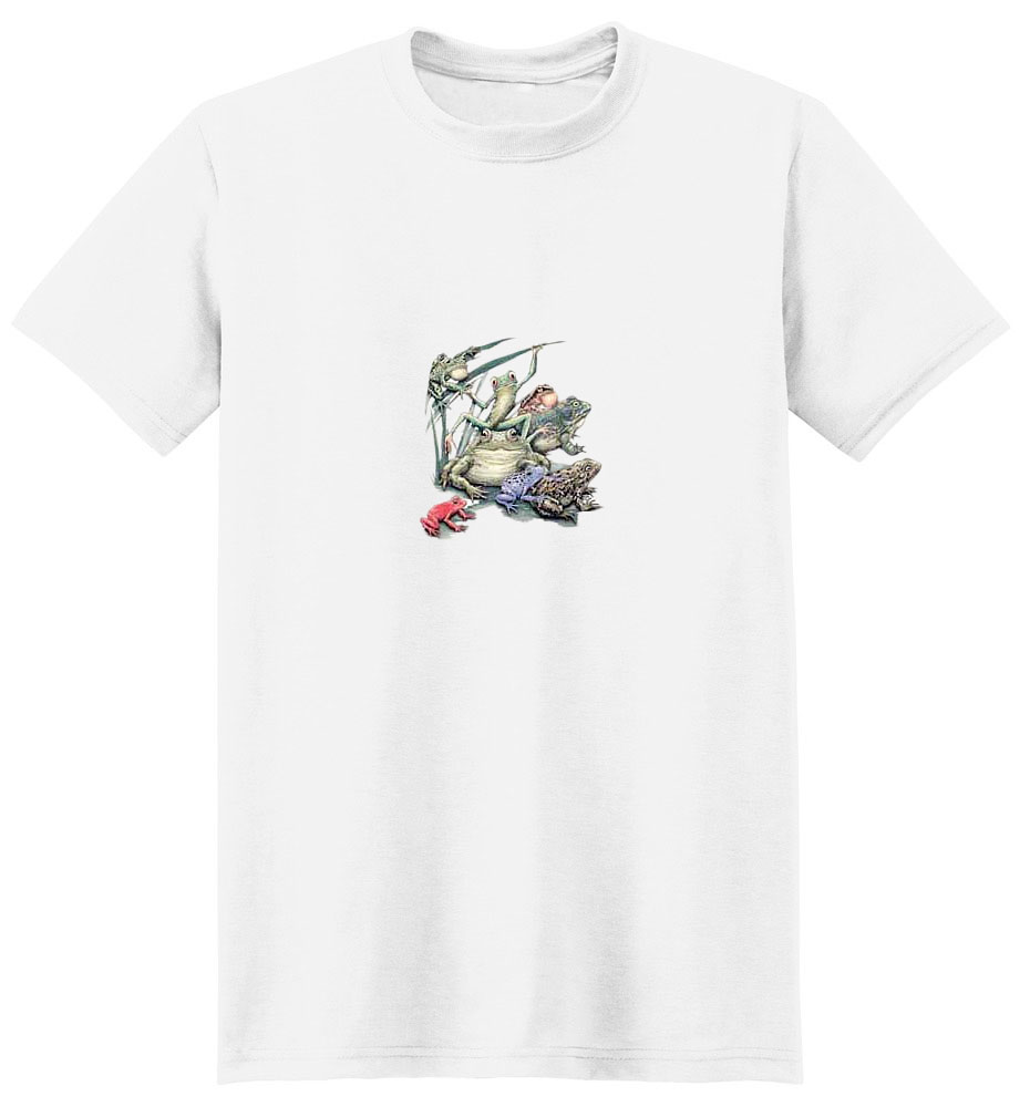 Frog T-Shirt - A Colorful Addition
