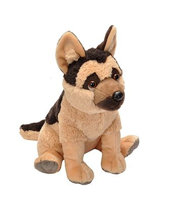 German Shephard Cuddlekins Plush Animal 12