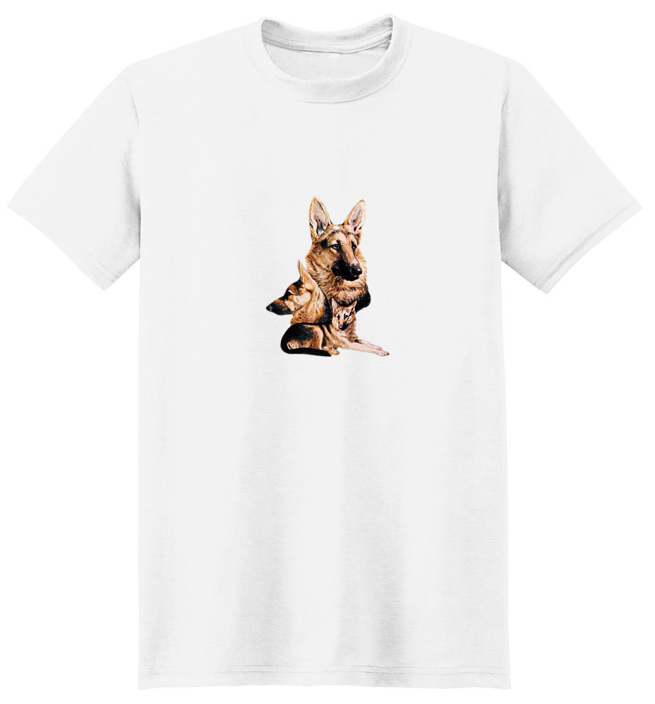 German Shepherd T-Shirt - Best Friends