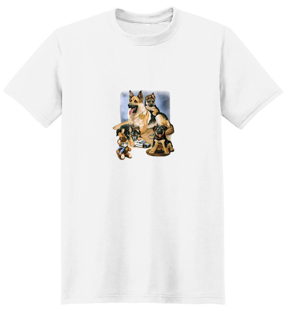 German Shepherd T-Shirt - Linda Picken