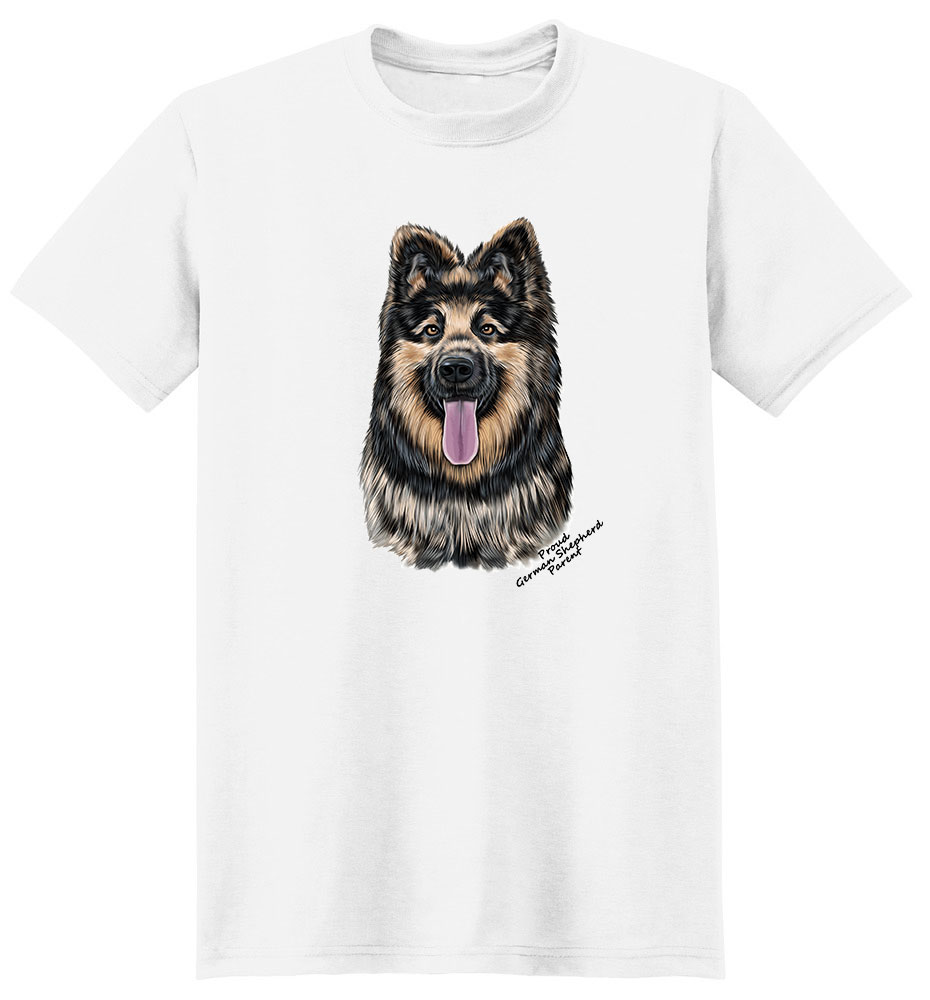 German Shepherd T Shirt - Proud Parent
