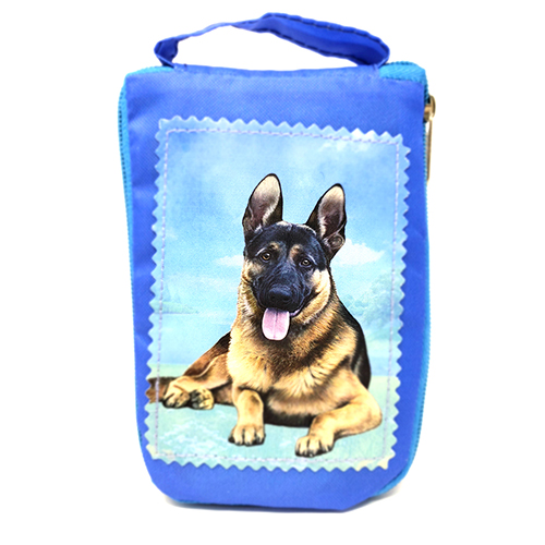 German Shepherd Tote Bag - Foldable to Pouch