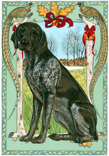 German Shorthaired Pointer Christmas Cards