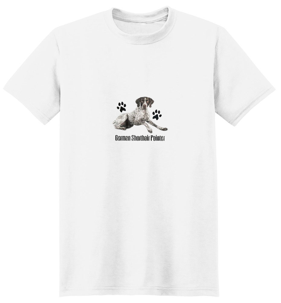 German Shorthaired Pointer T-Shirt - Profiles