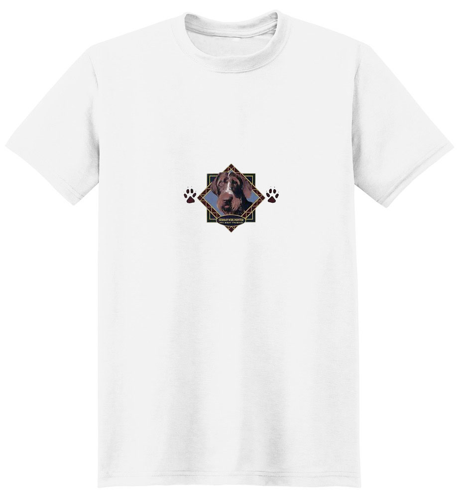 German Wirehaired Pointer T-Shirt - Diamond Collection