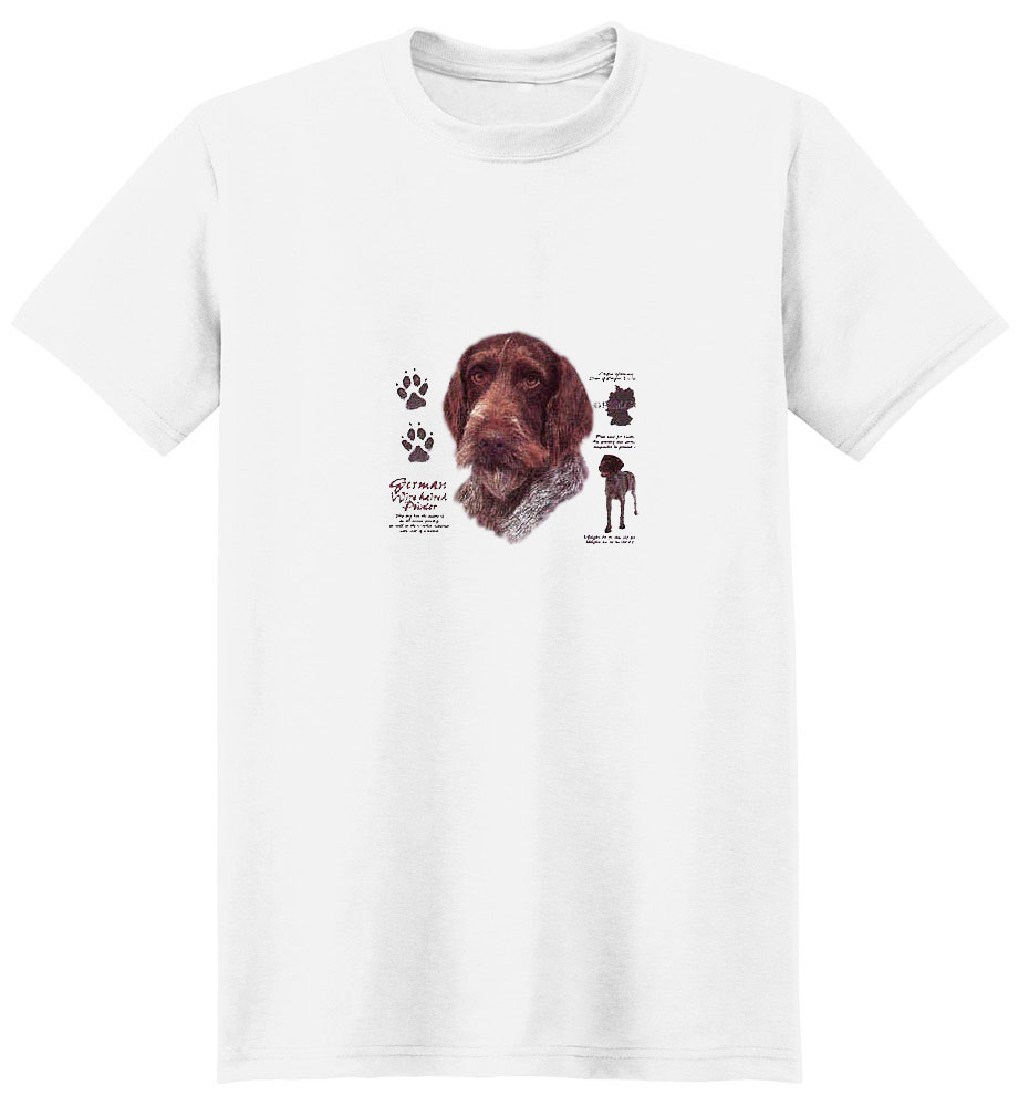 German Wirehaired Pointer T-Shirt - History Collection