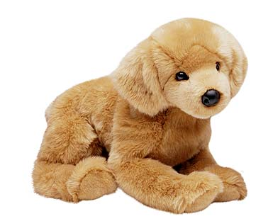Golden Retriever Plush Animal