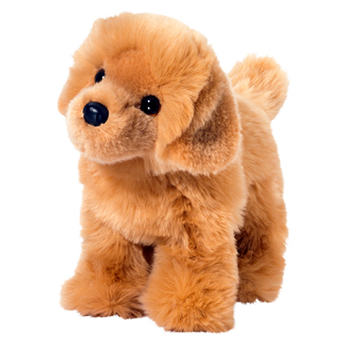 Golden Retriever Plush Stuffed Animal 10 Inch