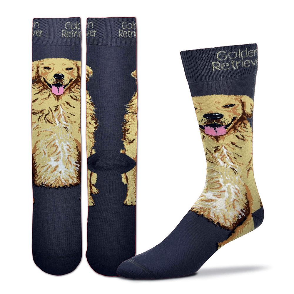 Golden Retriever Realistic Socks