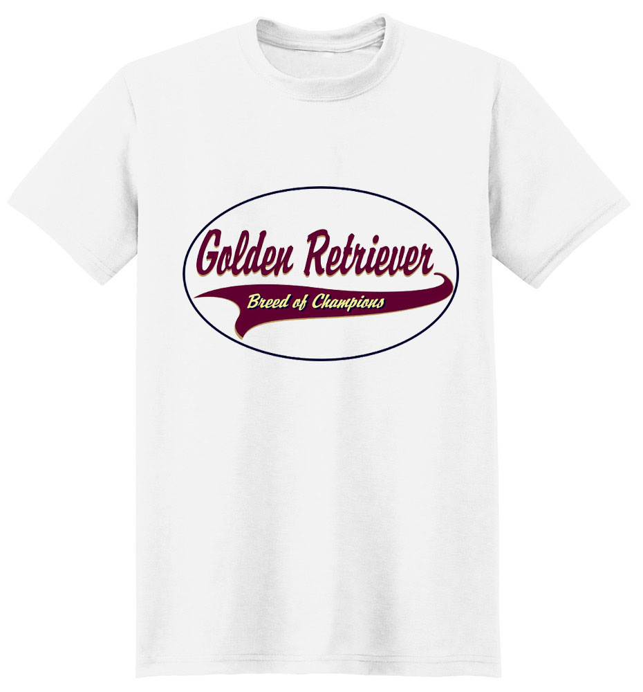 Golden Retriever T-Shirt - Breed of Champions