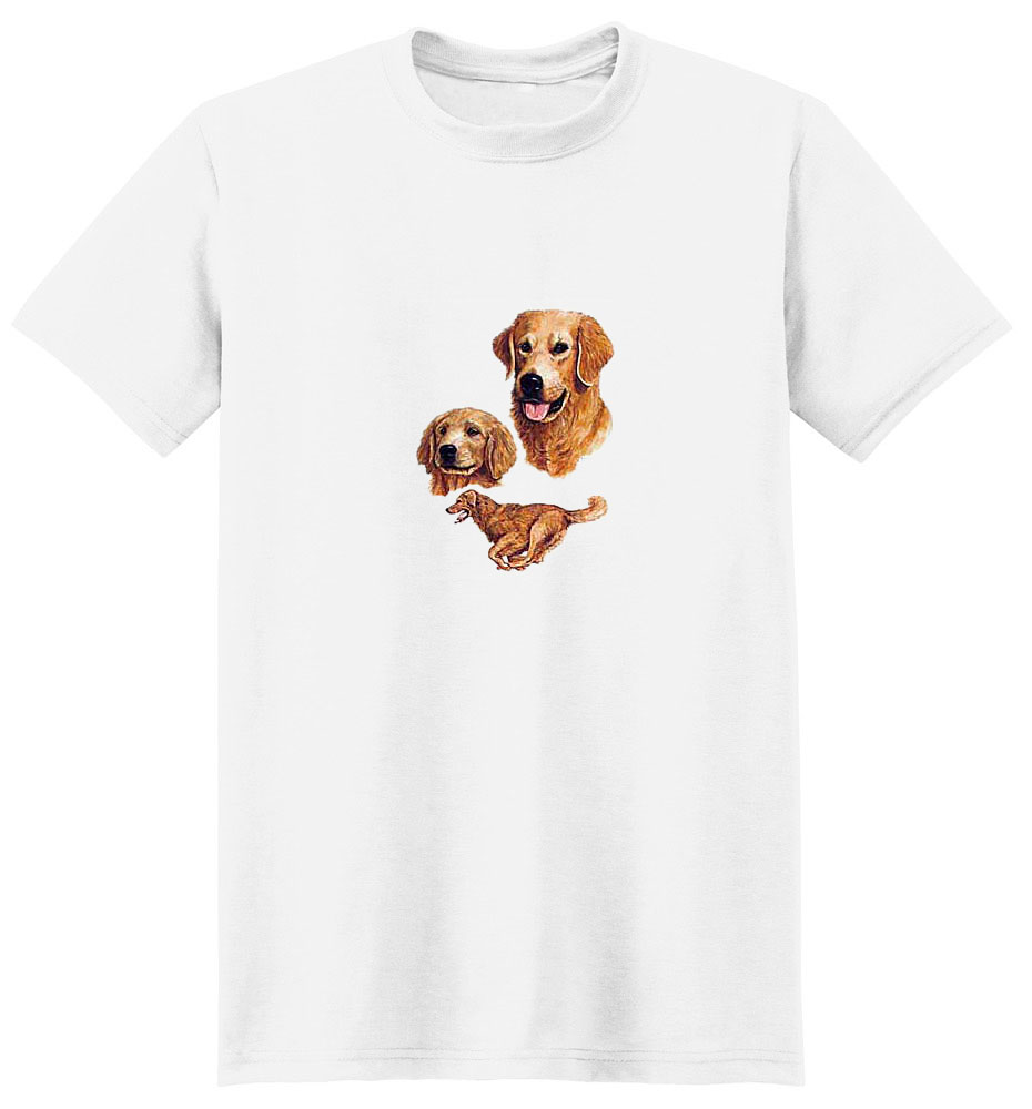 Golden Retriever T-Shirt - Collage