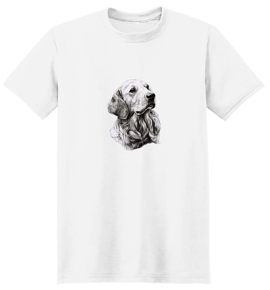 Golden Retriever T-Shirt - Eye Catching Detail