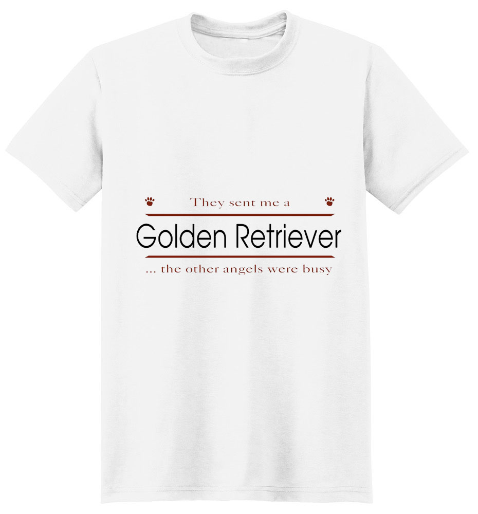 Golden Retriever T-Shirt - Other Angels