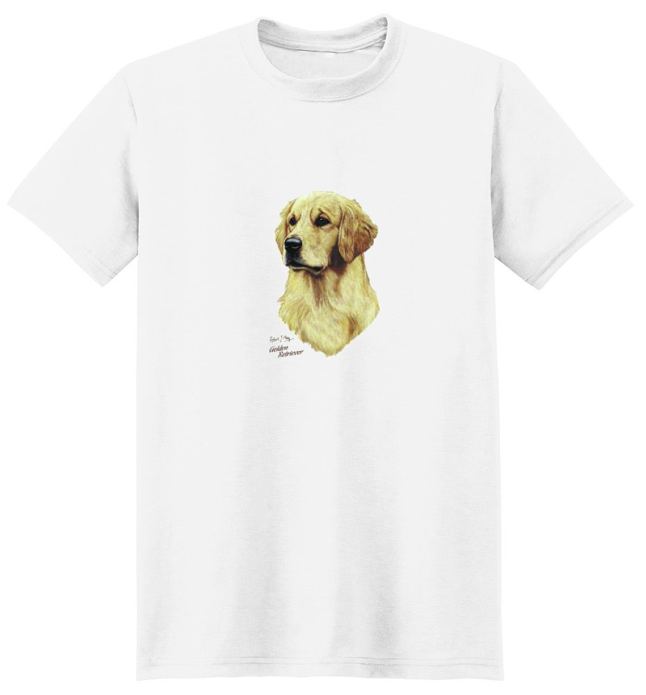 Golden Retriever T Shirt Robert May Collection