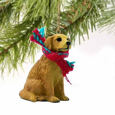 Golden Retriever Tiny One Christmas Ornament