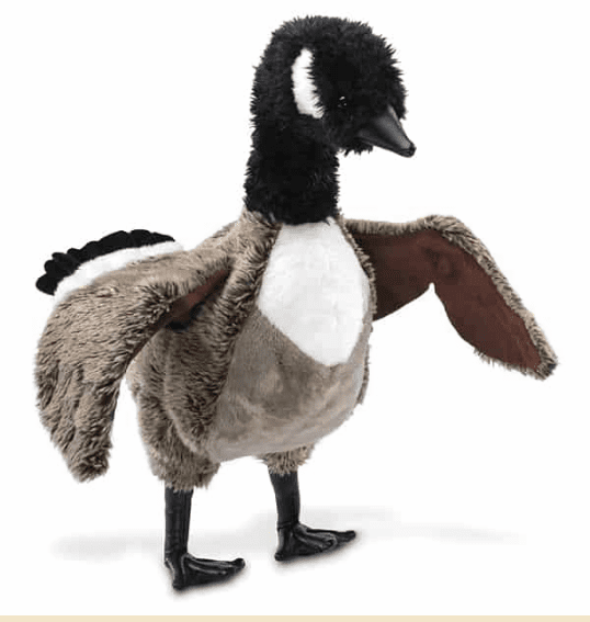 Canadian Goose Hand Puppet 16