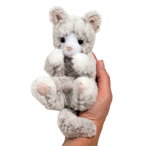 Gray Cat Plush Stuffed Animal