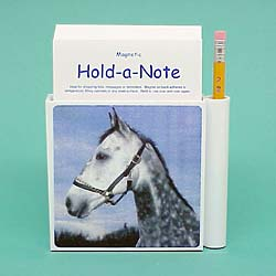Gray Horse Hold-a-Note