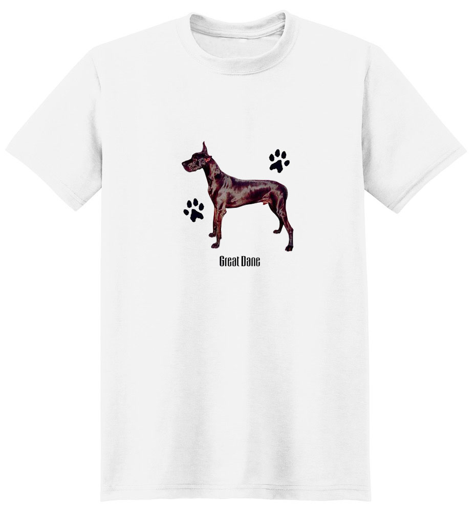 Great Dane T-Shirt - Stylin With Paws