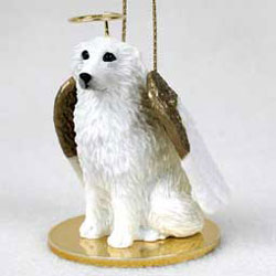 Great Pyrenees Christmas Ornament Angel