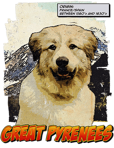 Great Pyrenees T-Shirt Ancestry