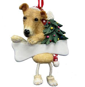 Greyhound Christmas Tree Ornament - Personalize