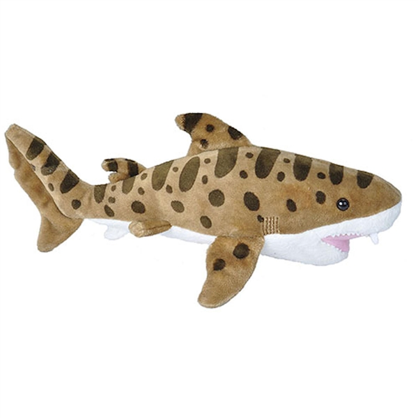 Sea Critters Wild Republic Leopard Shark plush,  11 inches